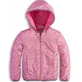 Dívčí jarní bunda KNOT SO BAD STARS růžová Velikost: 92
