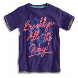 Chlapecké tričko BOYSTAR BROOKLYN fialové Velikost: 140