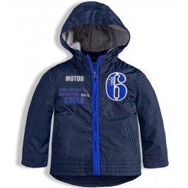 Chlapecká šusťáková bunda KNOT SO BAD MOTOR tmavě modrá Velikost: 62