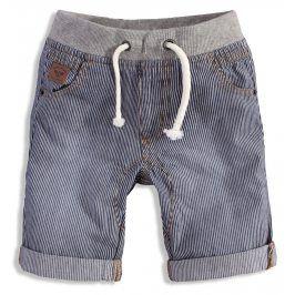 Dětské šortky MINOTI TYLER modrý proužek Velikost: 134-140