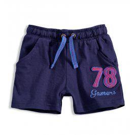 Chlapecké bavlněné šortky KNOT SO BAD GAMERS tmavě modré Velikost: 92