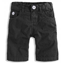 Dětské šortky PEBBLESTONE LOS ANGELES černé Velikost: 92-98
