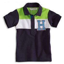 Chlapecké polo tričko MINOTI GREEN tmavě modré Velikost: 92