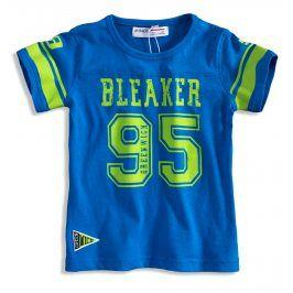 Dětské tričko s krátkým rukávem MINOTI BLEAKER modré Velikost: 80