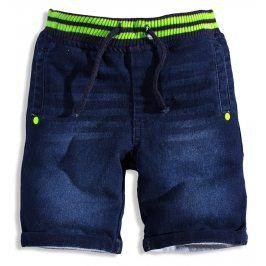 Dětské šortky MINOTI GREEN zelený pas Velikost: 80