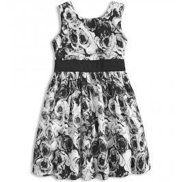 Dívčí letní šaty MINOTI MIX černé Velikost: 98-104