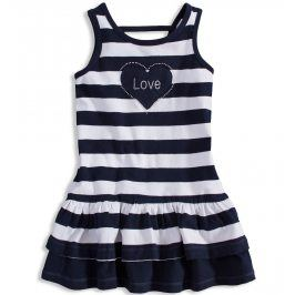 Dívčí šaty LOSAN LOVE tmavě modré Velikost: 92
