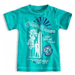 Chlapecké tričko s krátkým rukávem KNOT SO BAD SURFER zelené Velikost: 92