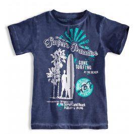 Chlapecké tričko s krátkým rukávem KNOT SO BAD SURFER modré Velikost: 92