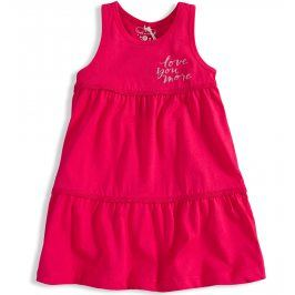 Dívčí šaty KNOT SO BAD LOVE YOU MORE růžové Velikost: 92
