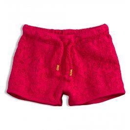 Dívčí krajkové šortky KNOT SO BAD LACE růžové Velikost: 92