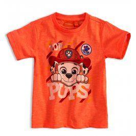 Dětské tričko PAW PATROL MARSHALL oranžové Velikost: 86