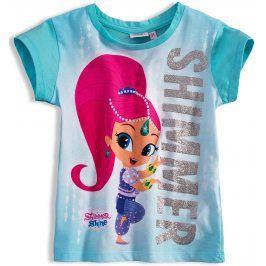 Dívčí tričko SHIMMER & SHINE SHIMMER tyrkysové Velikost: 98