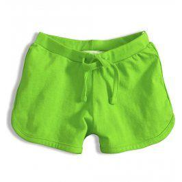 Dívčí bavlněné šortky KNOT SO BAD GIRL zelené Velikost: 92