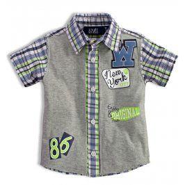 Chlapecká košile KNOT SO BAD NEW YORK zelená Velikost: 92