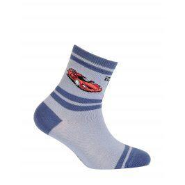 Chlapecké ponožky GATTA ZÁVODNÍ AUTO modré Velikost: 27-29
