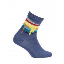 Chlapecké ponožky GATTA COLOURS modré Velikost: 27-29