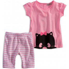Dívčí letní set Mix´nMATCH CATS růžový Velikost: 92