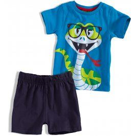 Chlapecké pyžamo KNOT SO BAD KOBRA modré Velikost: 104