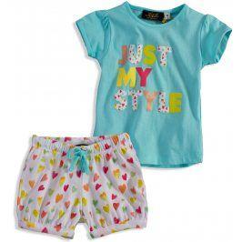 Dívčí pyžamo KNOT SO BAD MY STYLE tyrkysové Velikost: 92