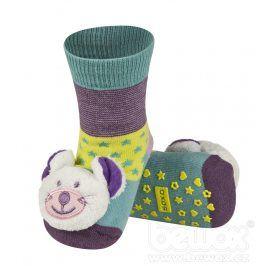 SOXO Ponožky s chrastítkem MYŠ Velikost: 19-21