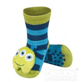 SOXO Ponožky s chrastítkem MARŤAN modré Velikost: 19-21