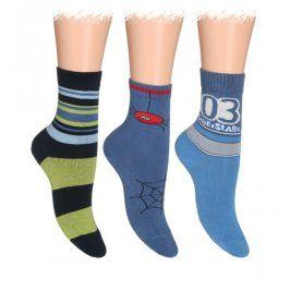 WOLA Dětské ponožky ABS 2 + 1 ZDARMA Velikost: 30-32