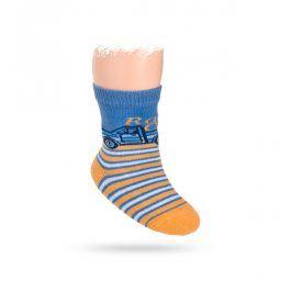 Ponožky WOLA s obrázkem vzor AUTÍČKO Velikost: 12-14