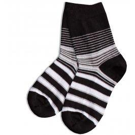 WOLA Dětské ponožky GATTA vzor PROUŽKY Velikost: 27-29