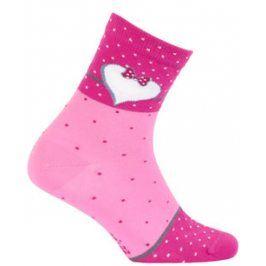 Dívčí vzorované ponožky GATTA SRDÍČKO Velikost: 30-32