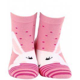 Dívčí ponožky se vzorem WOLA KRÁLÍČEK Velikost: 24-26