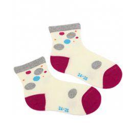 Dívčí vzorované ponožky WOLA PUNTÍK Velikost: 21-23