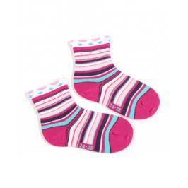 Dívčí ponožky se vzorem WOLA PROUŽKY Velikost: 21-23