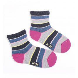 Dětské ponožky WOLA vzor PROUŽKY Velikost: 21-23