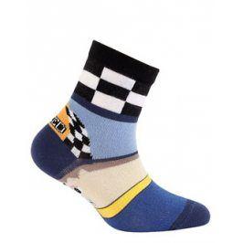 Dětské vzorované ponožky WOLA SPEED Velikost: 30-32