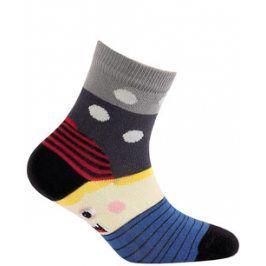 Dětské vzorované ponožky WOLA Velikost: 27-29