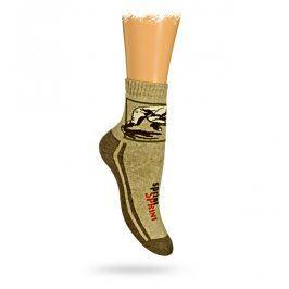 GATTA Dětské termo ponožky vzor SPRINT Velikost: 27-29