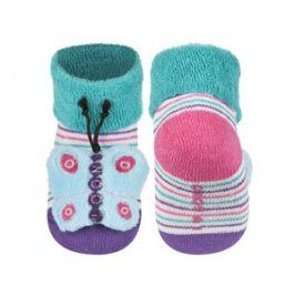 SOXO Ponožky s chrastítkem MOTÝL Velikost: 16-18
