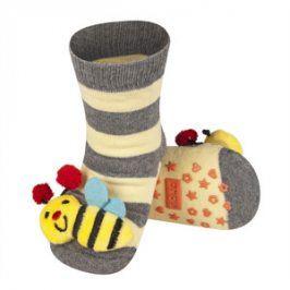 SOXO Ponožky s chrastítkem VČELKA Velikost: 19-21