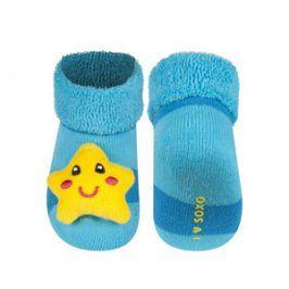 SOXO Ponožky s chrastítkem HVĚZDA Velikost: 16-18
