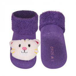 SOXO Ponožky s chrastítkem TYGŘÍK Velikost: 16-18
