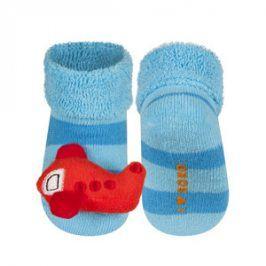 SOXO Ponožky s chrastítkem LETADLO Velikost: 16-18