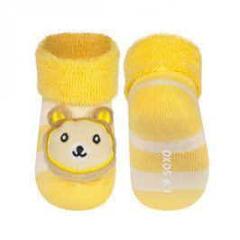 SOXO Ponožky s chrastítkem MEDVÍDEK Velikost: 16-18