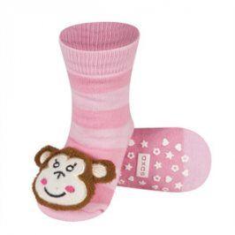 SOXO Ponožky s chrastítkem OPICE Velikost: 19-21