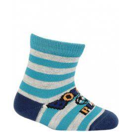Kojenecké vzorované ponožky WOLA MÍČ Velikost: 12-14