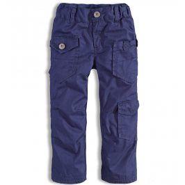 Chlapecké zateplené kalhoty DIRKJE modré Velikost: 92