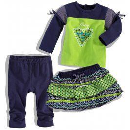 Dívčí kojenecký set DIRKJE FINNY GIRL zelená Velikost: 62