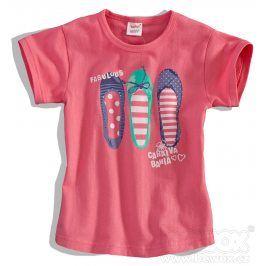 Dětské tričko DIRKJE FABULOUS růžové Velikost: 80