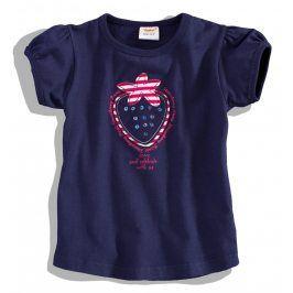 DIRKJE Dívčí tričko s krátkým rukávem Velikost: 80