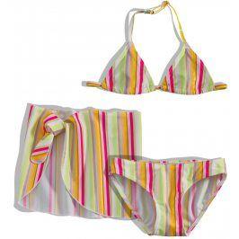 Dívčí plavky s pareem Dirkje PROUŽKY Velikost: 110